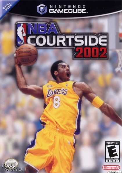 GameCube Games - NBA Courtside 2002