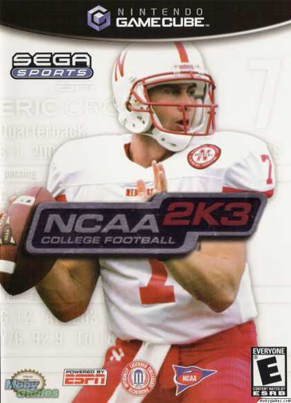 GameCube Games - NCAA College Football 2K3