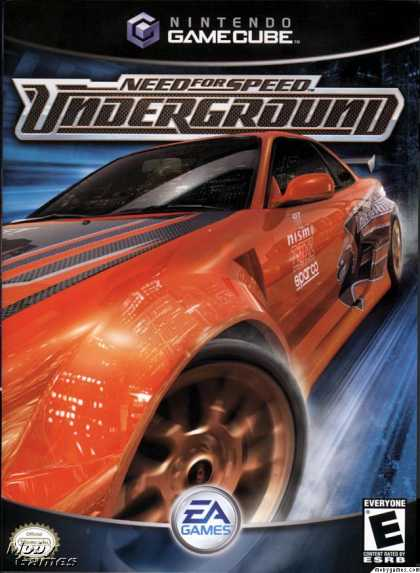 GameCube Games - Need for Speed Underground
