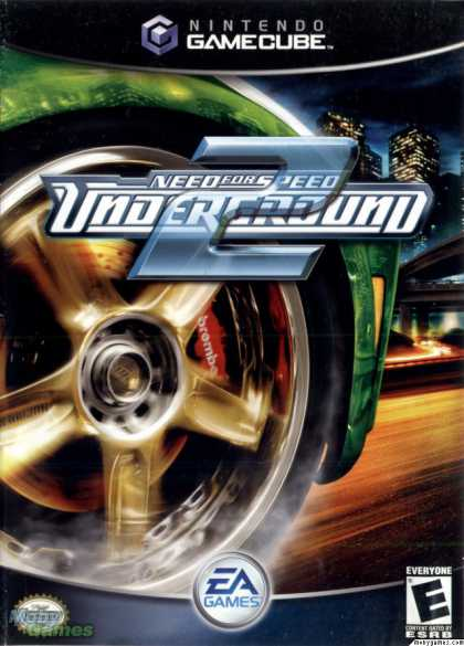 GameCube Games - Need for Speed Underground 2