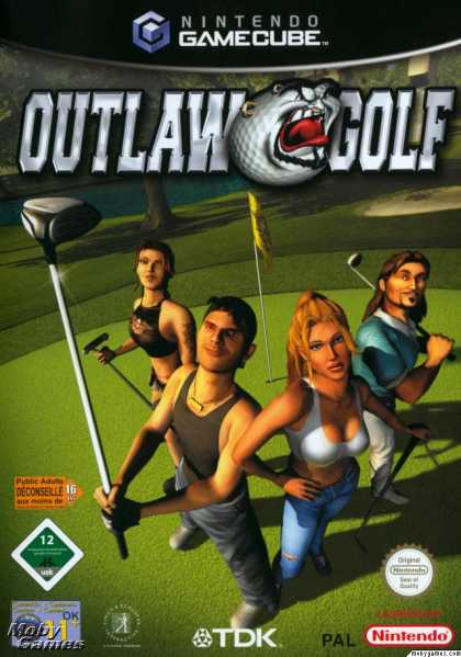 GameCube Games - Outlaw Golf