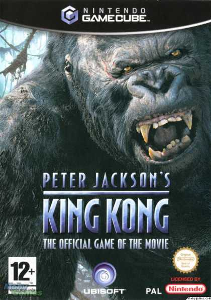 GameCube Games - Peter Jackson's King Kong: The Official Game of the Movie