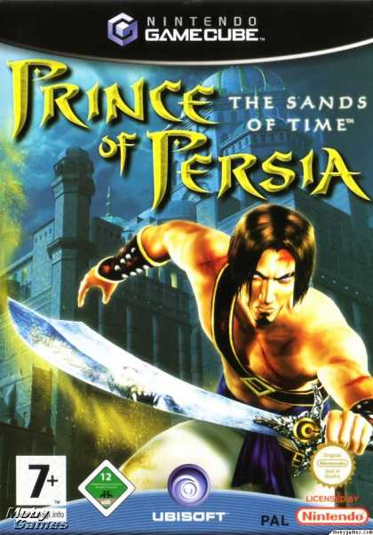 GameCube Games - Prince of Persia: The Sands of Time