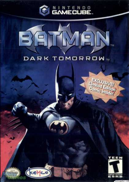 GameCube Games - Batman: Dark Tomorrow