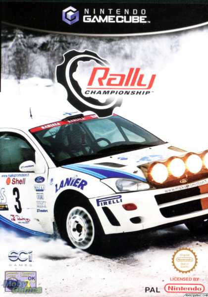 GameCube Games - Rally Championship