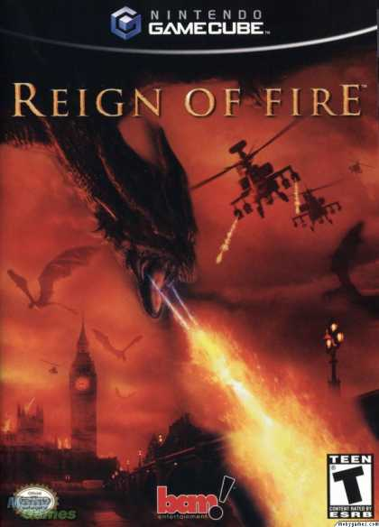 GameCube Games - Reign of Fire