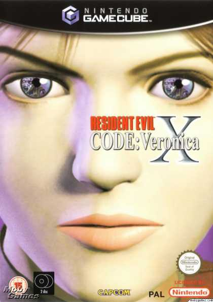 GameCube Games - Resident Evil: Code: Veronica Complete