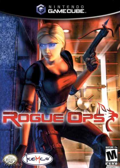 GameCube Games - Rogue Ops