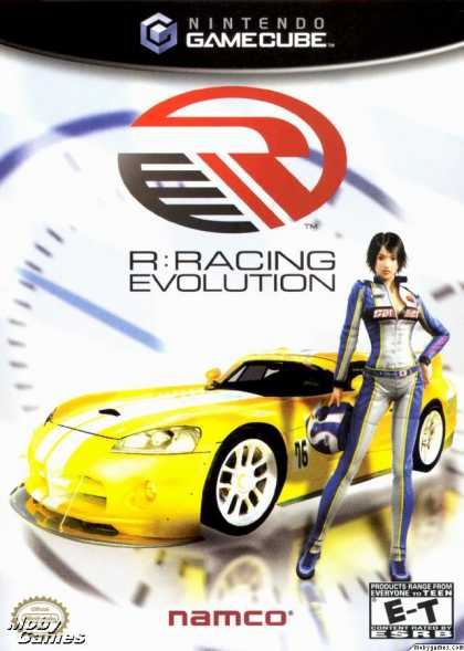 GameCube Games - R:Racing Evolution