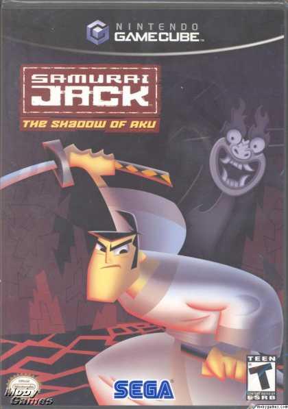 GameCube Games - Samurai Jack: The Shadow of Aku