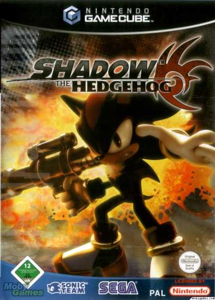 GameCube Games - Shadow the Hedgehog