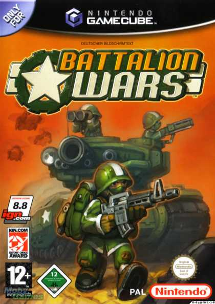 GameCube Games - Battalion Wars