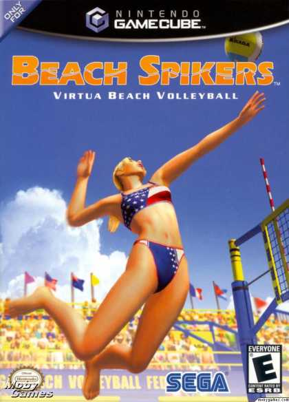 GameCube Games - Beach Spikers