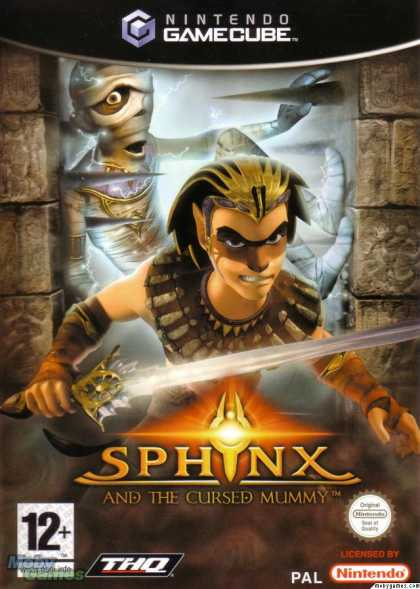 GameCube Games - Sphinx and the Cursed Mummy