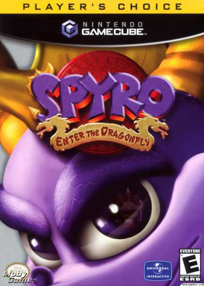 GameCube Games - Spyro: Enter the Dragonfly
