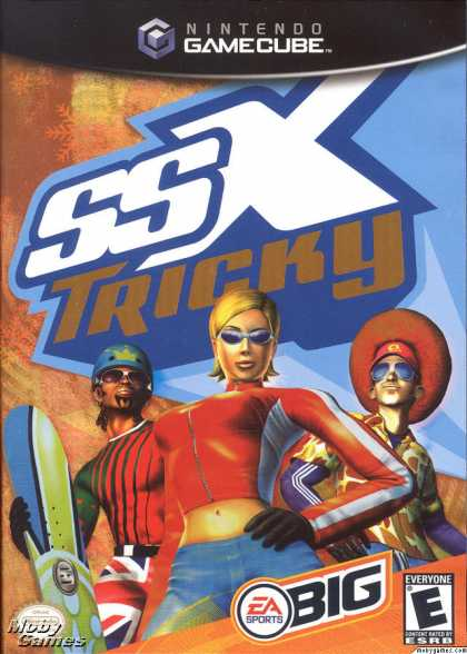 GameCube Games - SSX Tricky