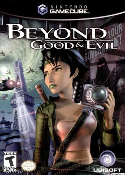 GameCube Games - Beyond Good & Evil
