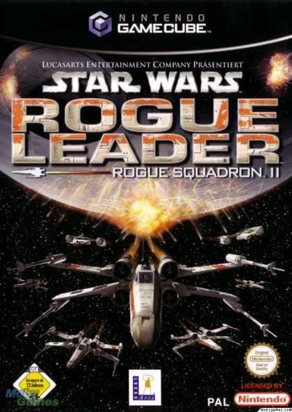 GameCube Games - Star Wars: Rogue Squadron II - Rogue Leader