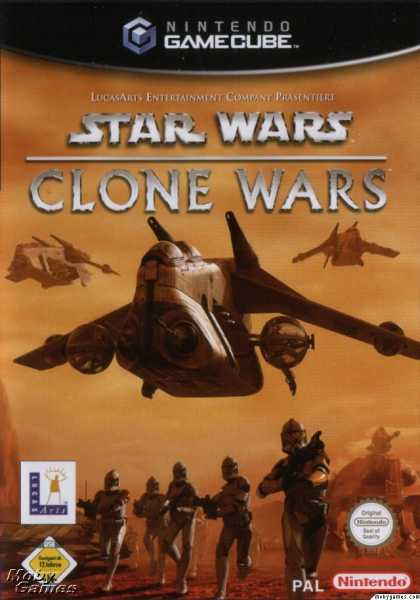 GameCube Games - Star Wars: The Clone Wars