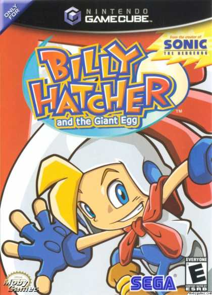 GameCube Games - Billy Hatcher and the Giant Egg