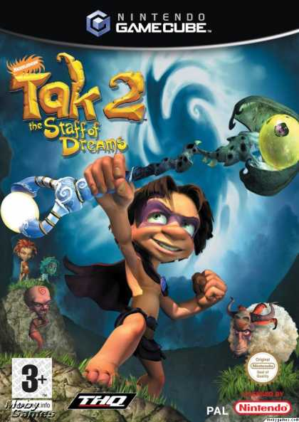 GameCube Games - Tak 2: The Staff of Dreams