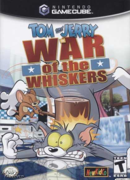 GameCube Games - Tom and Jerry: War of the Whiskers