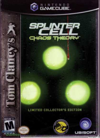 GameCube Games - Tom Clancy's Splinter Cell: Chaos Theory (Limited Collector's Edition)