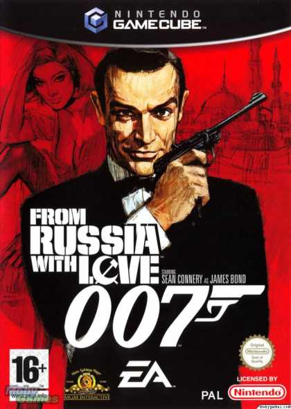 GameCube Games - 007: From Russia with Love