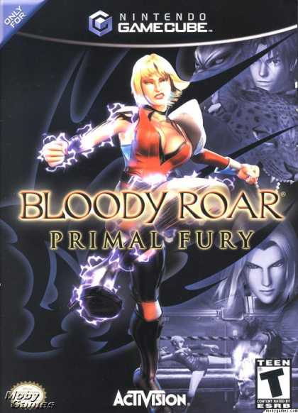 GameCube Games - Bloody Roar: Primal Fury