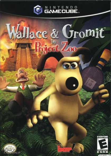 GameCube Games - Wallace & Gromit in Project Zoo