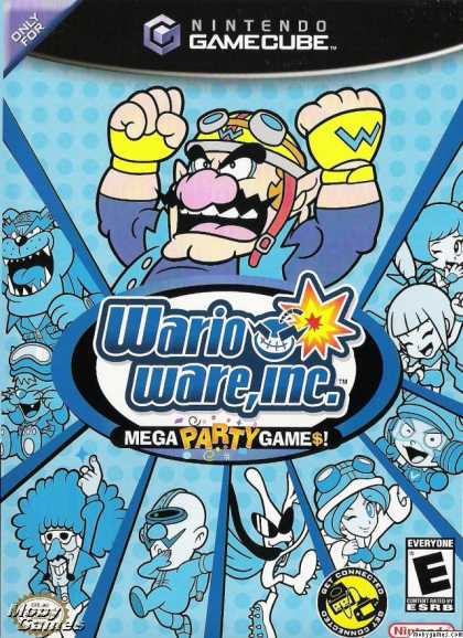 GameCube Games - WarioWare, Inc.: Mega Party Game$