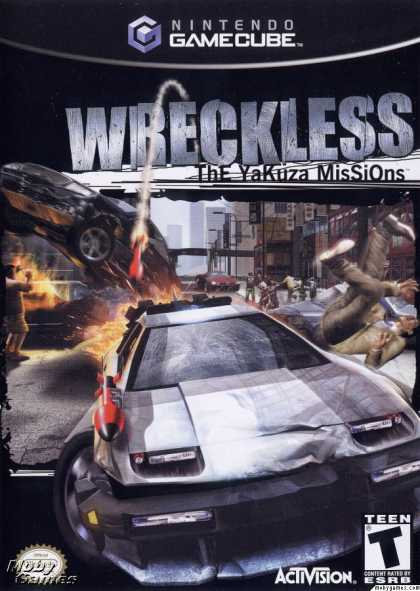 GameCube Games - Wreckless: The Yakuza Missions