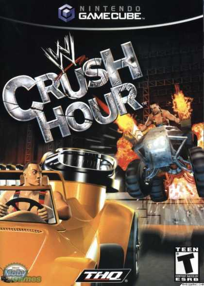 GameCube Games - WWE Crush Hour