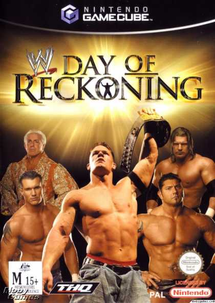 GameCube Games - WWE Day of Reckoning