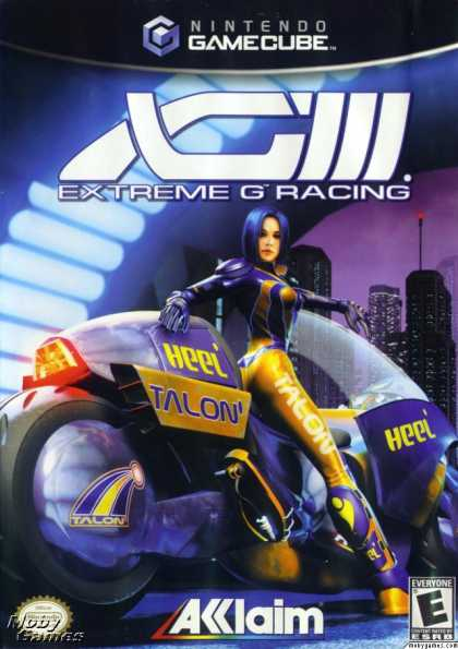 GameCube Games - XG3: Extreme G Racing
