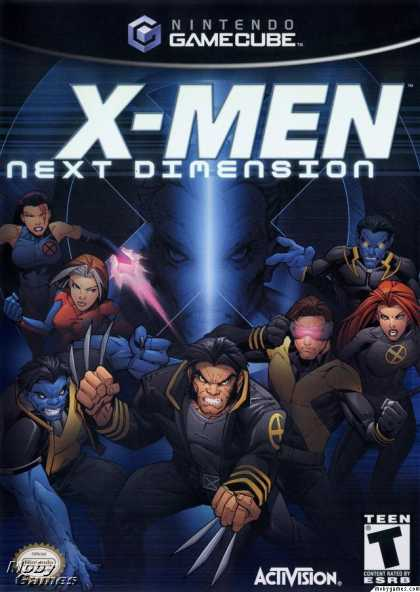 GameCube Games - X-Men: Next Dimension