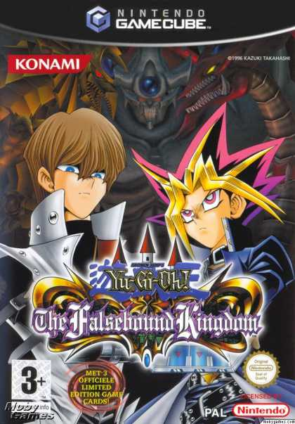 GameCube Games - Yu-Gi-Oh!: The Falsebound Kingdom