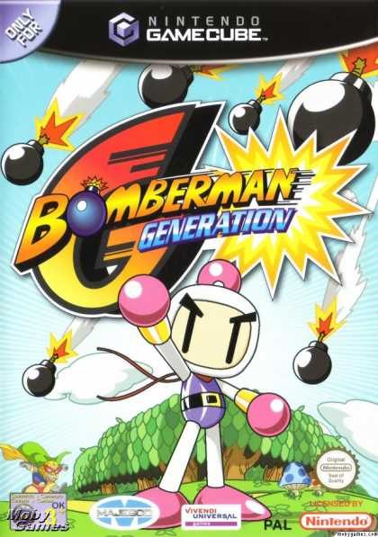 GameCube Games - Bomberman Generation