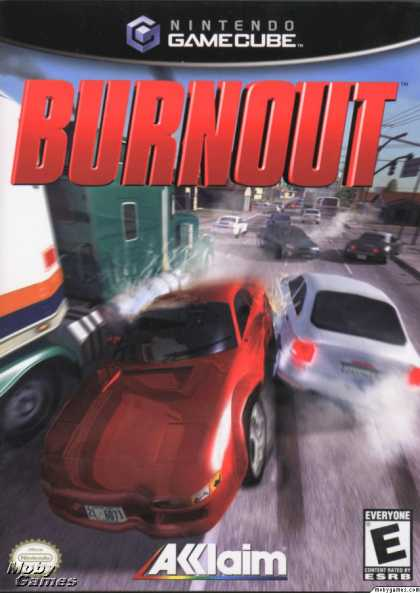GameCube Games - Burnout