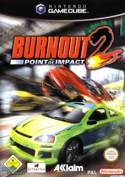 GameCube Games - Burnout 2: Point of Impact