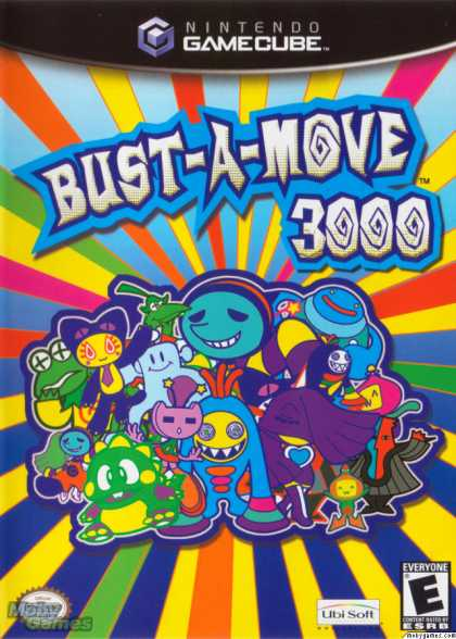 GameCube Games - Bust-a-Move 3000