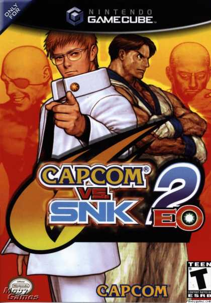 GameCube Games - Capcom VS. SNK 2: Millionaire Fighting 2001