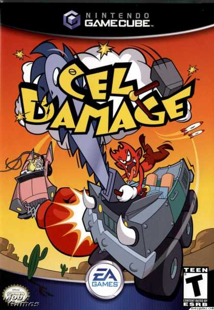 GameCube Games - Cel Damage