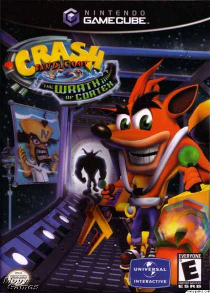 GameCube Games - Crash Bandicoot: The Wrath of Cortex