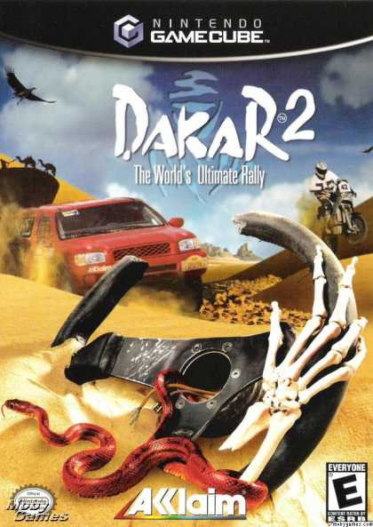 GameCube Games - Dakar 2: The World's Ultimate Rally