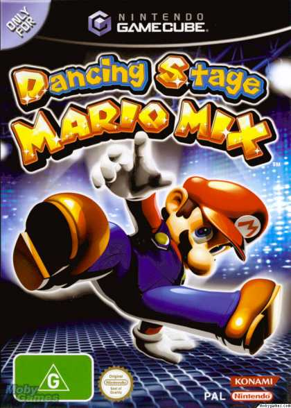 GameCube Games - Dance Dance Revolution Mario Mix