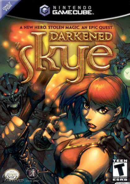 GameCube Games - Darkened Skye