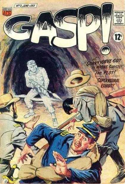 Gasp 3 - Ghost - Union - Confederate - Supernatural - Army