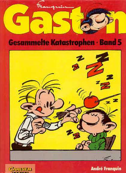 Gaston 24 - Apple - Arrow - Men - Carlsen - Andre Franquin
