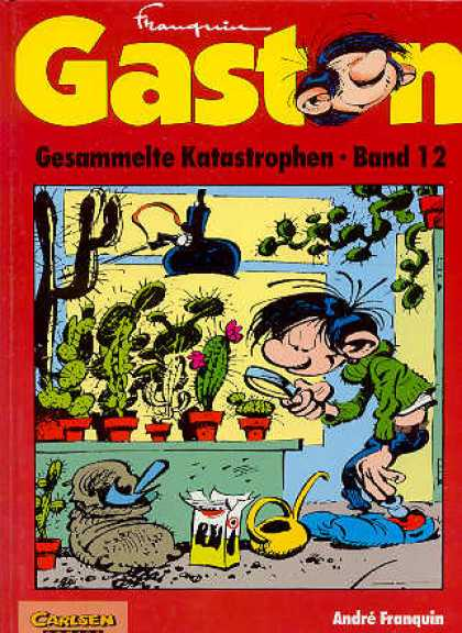 Gaston 31 - Magnifier - Cactus - Greenhouse - Lamp - Soil